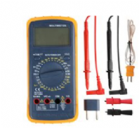 AUTOMOTIVE DIGITAL MULTIMETER with DWELL / TACHOMETER & TEMPERATURE RANGES  <br>   ALT/MM-D03145-06